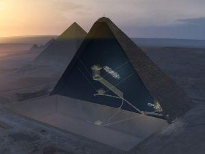 To musíte vidět! Video ze záhadné dutiny v Cheopsově pyramidě!