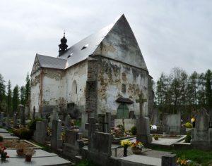 Proč jde z Velhartického hřbitova mráz po zádech?