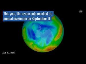 Ozonová díra nad Antarktidou je nejmenší za posledních 30 let: Ale proč?