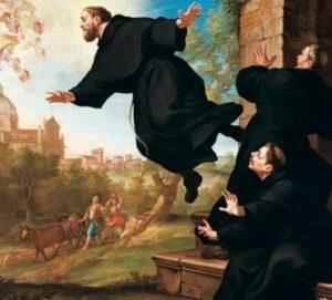Vznášející se mnich v Cupertinu: Šlo o zázrak?