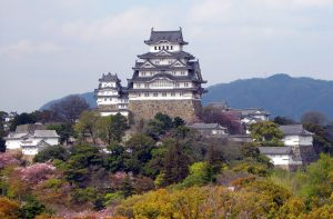 Bloudí po japonském hradě duch krásné ženy?