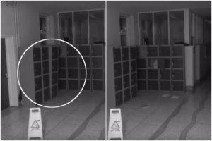 VIDEO: Kamera zachytila na škole v Irsku řádění ducha!