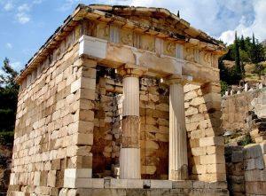 3D rekonstrukce athénské pokladnice zDelfské věštírny zveřejněna!