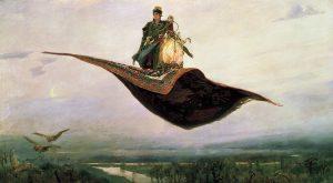 Létající koberec: Prý ho vlastnil král Šalamoun i parthský král Fraatés II.