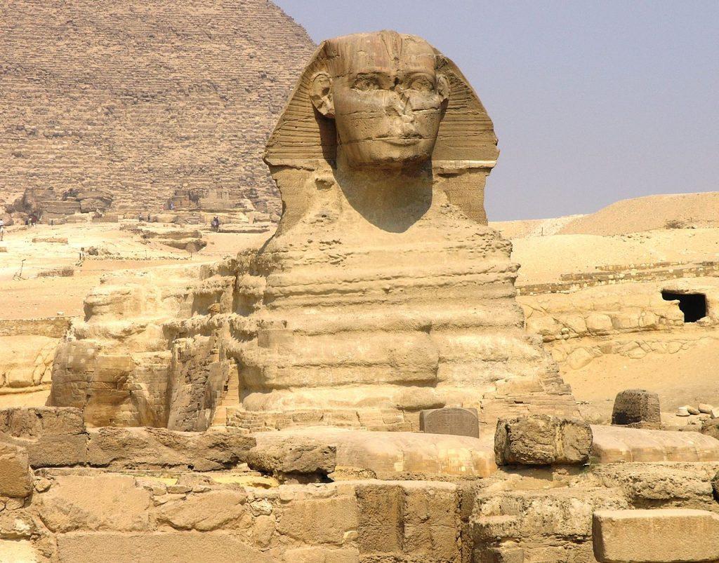 Záhady Velké sfingy v Gíze