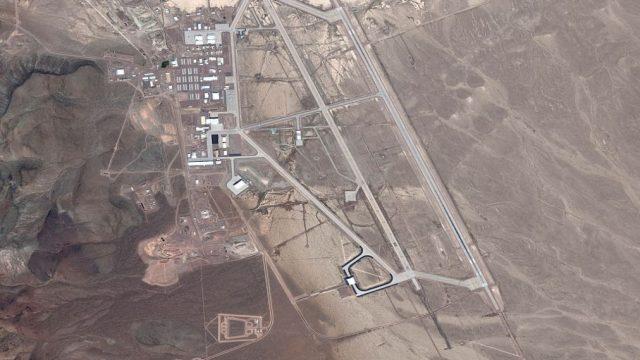 Nejznámější incident havárie UFO: Area 51
