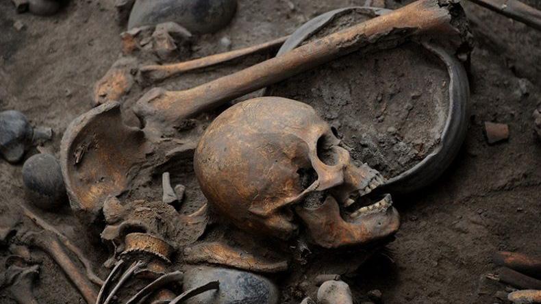 Tajemný hrob překvapil mexické vědce