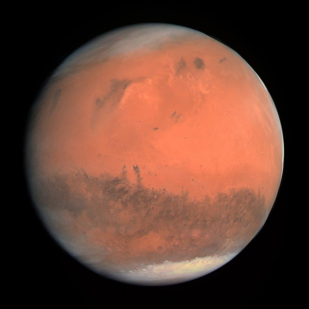 Planeta Mars: Mimozemské spisy