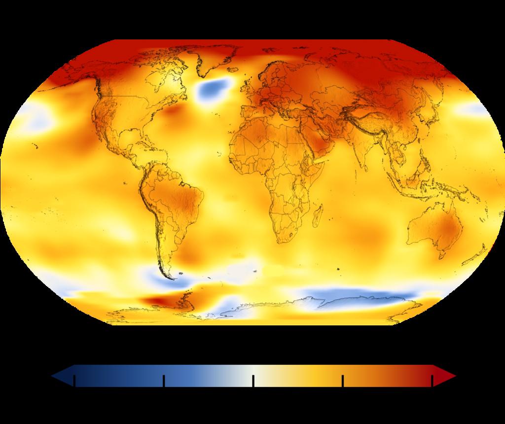Oteplení planety za posledních 50 let je značné.
