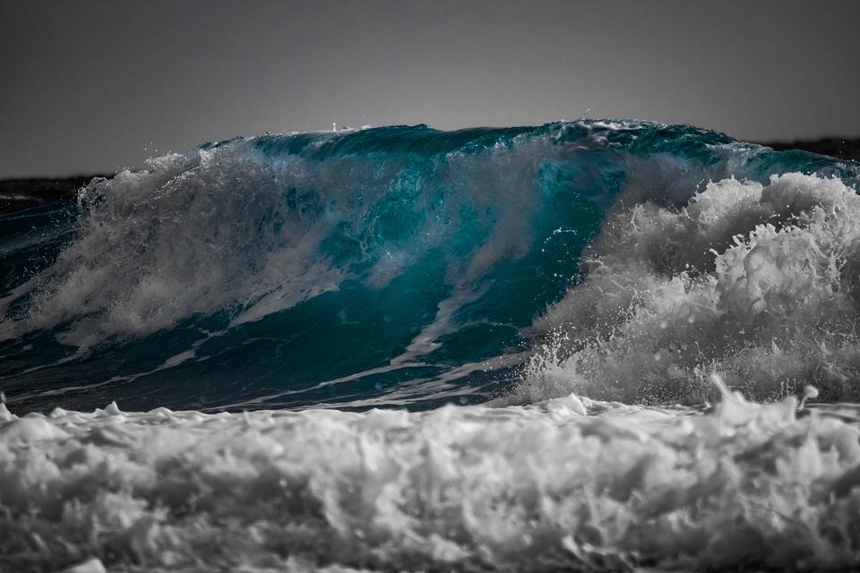 Obří vlny jsou skutečné.