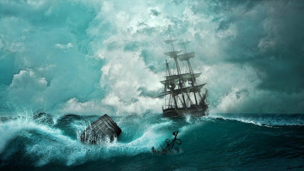 Smrtící obří vlny na širém moři nejsou jen legenda