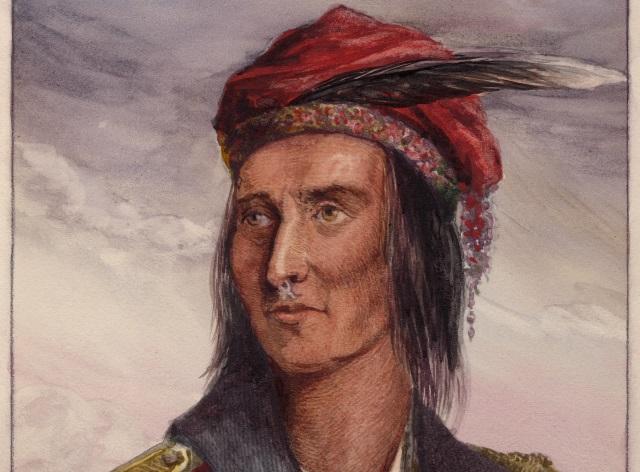 Tekumseh nesnášel bělochy a chtěl indiány spojit.