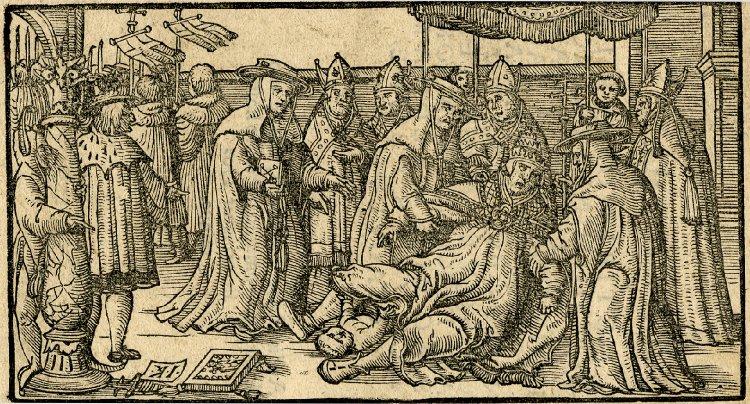 Legenda o papežce Janě se vypráví mezi lidmy již dlouhé stovky let.Foto: wikipedia commons