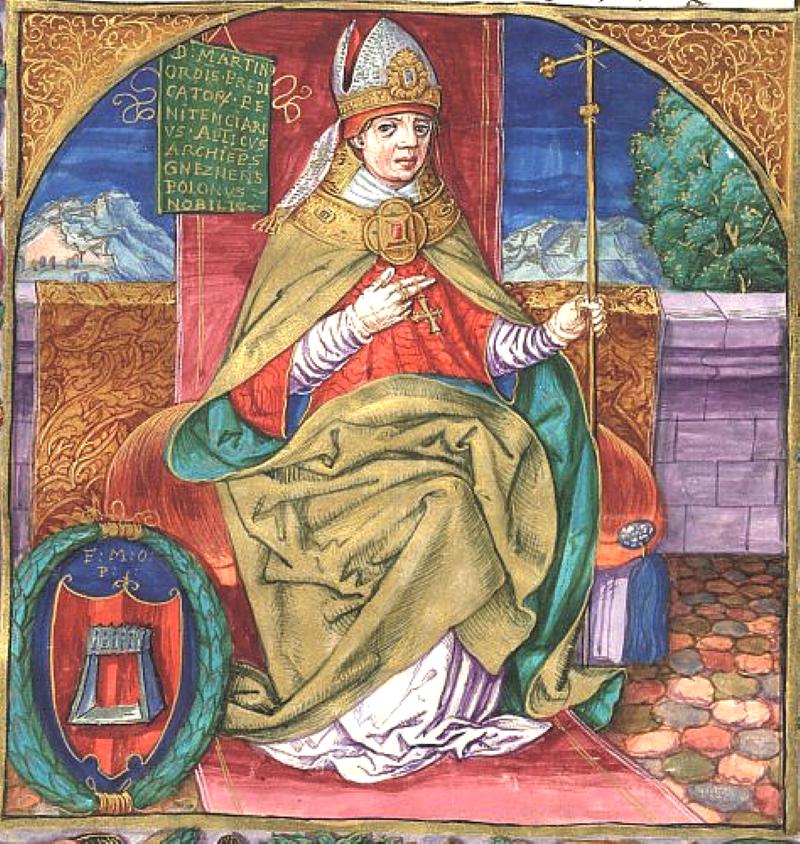 Detaily legendy známe z kroniky, kterou ve 13. století napsal Martin z Opavy. Foto: wikipedia commons
