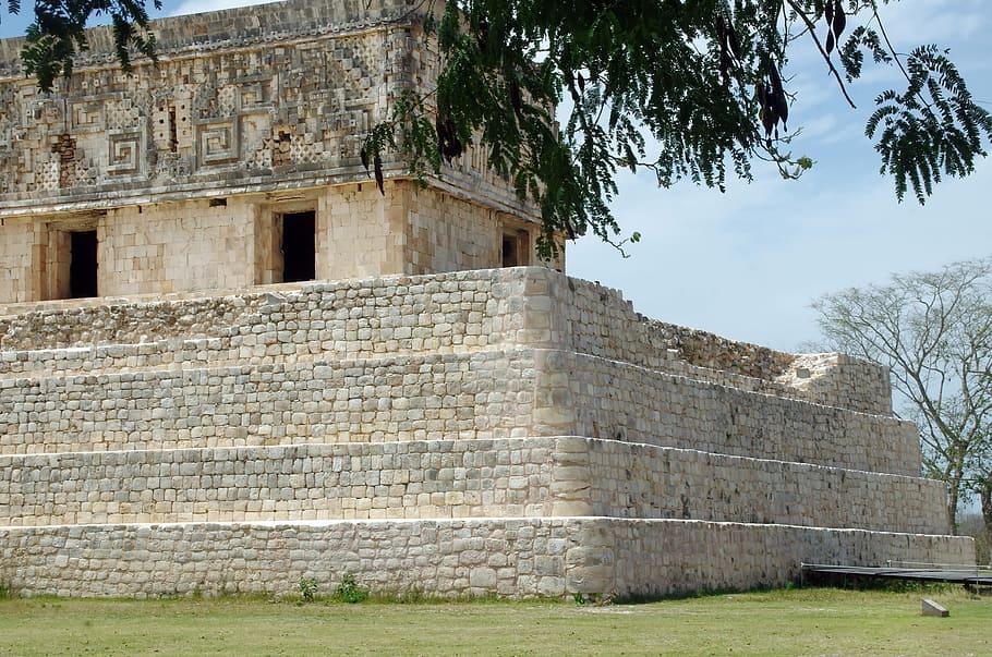 Typickou architekturu této civilizace pozná každý.