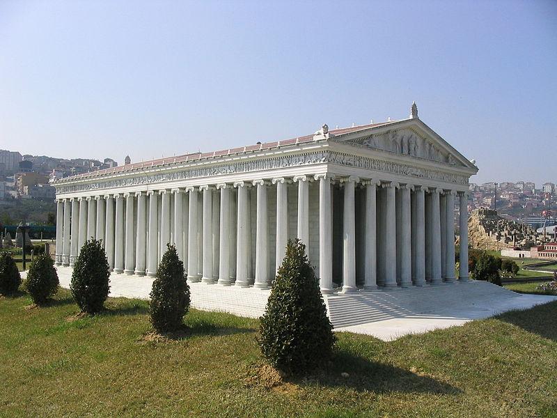 Vymodelovaná podoba chrámu. Foto: Wikimedia Commons