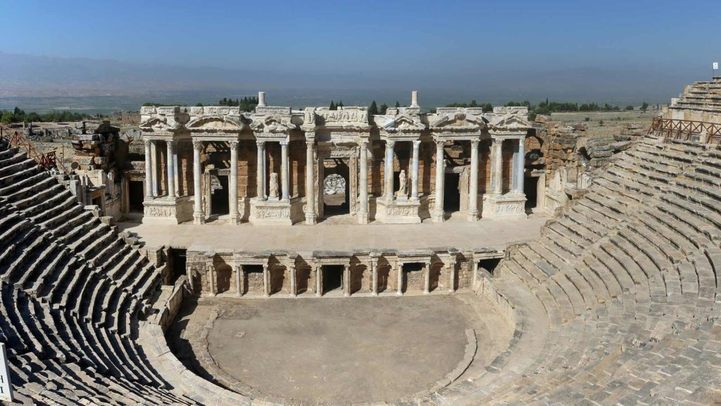 Hierapolis. Foto encyclopedia.vkv.org.tr