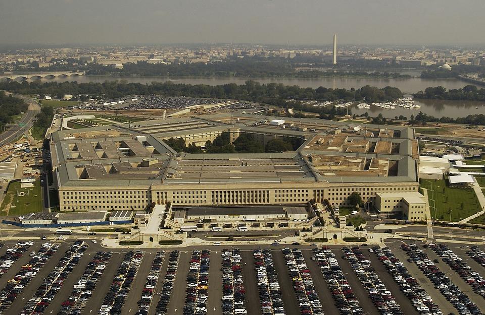 Pentagon, sídlo amerického ministerstva obrany.