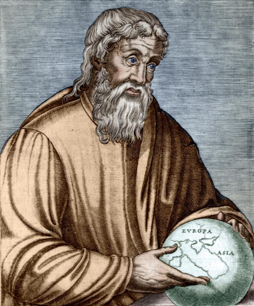 Řecký myslitel Strabo. Foto www.sciencesource.com