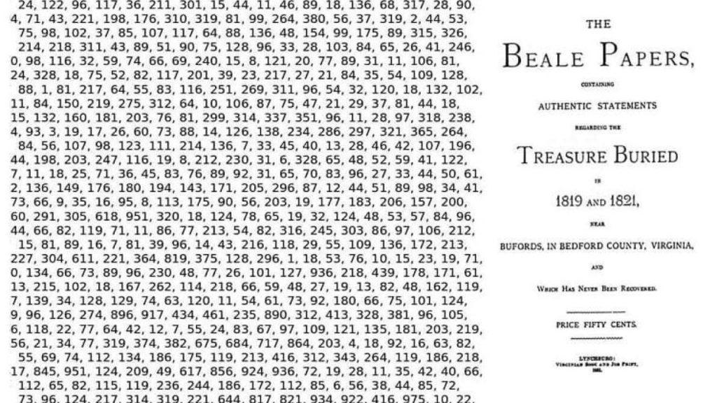 Šifru tvoří změť zdánlivě náhodných čísel. Foto www.ststworld.com