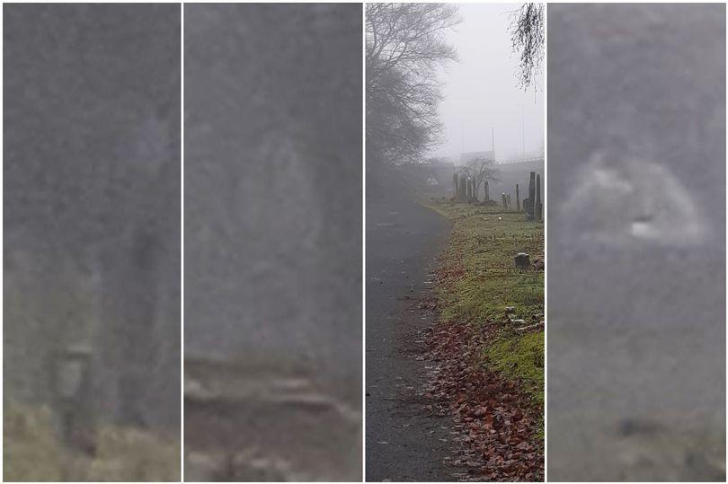 Při návštěvě hřbitova prý vyfotila trojici duchů. Jsou to duše zemřelých, myslí si žena