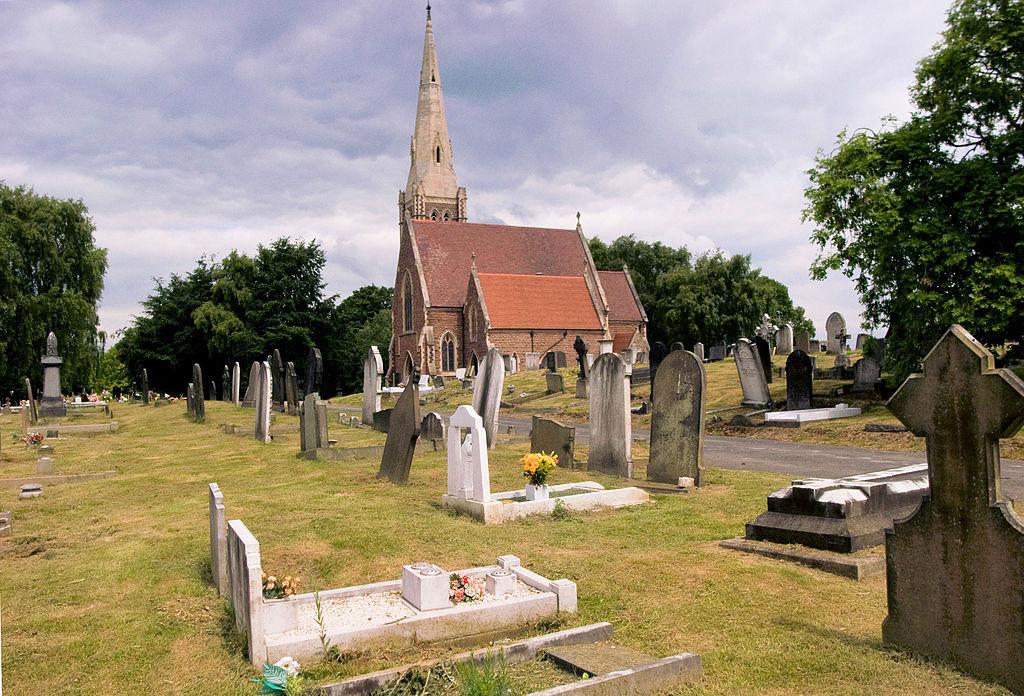Hřbitov má opravdu působivou, a někdy strašidelnou, atmosféru. ZDROJ: wikimedia commons