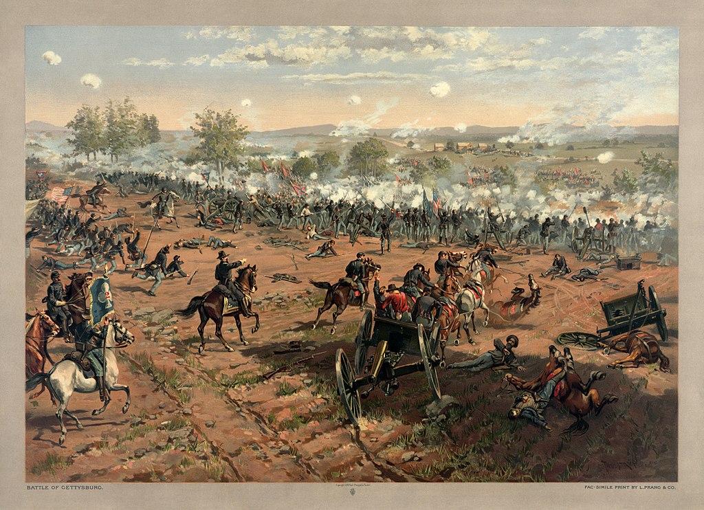 Gettysburgem se prý dodnes prohání duchové padlých vojáků