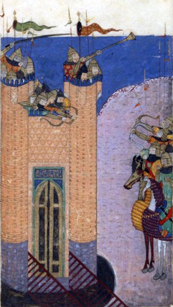 Alamút obléhán Mongoly. Kdo bude mít navrch? FOTO: wikimedia commons - volné dílo