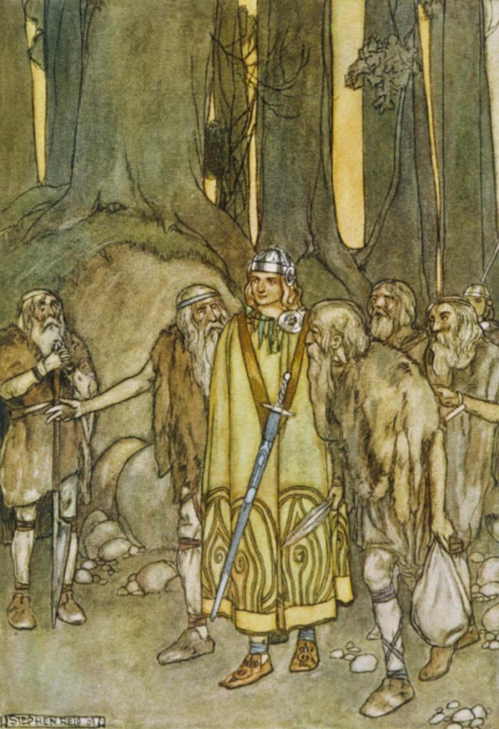 S tajemným bugganem měl bojovat i slavný hrdina Finn McCool. Foto Wikimedia Commons/Public Domain