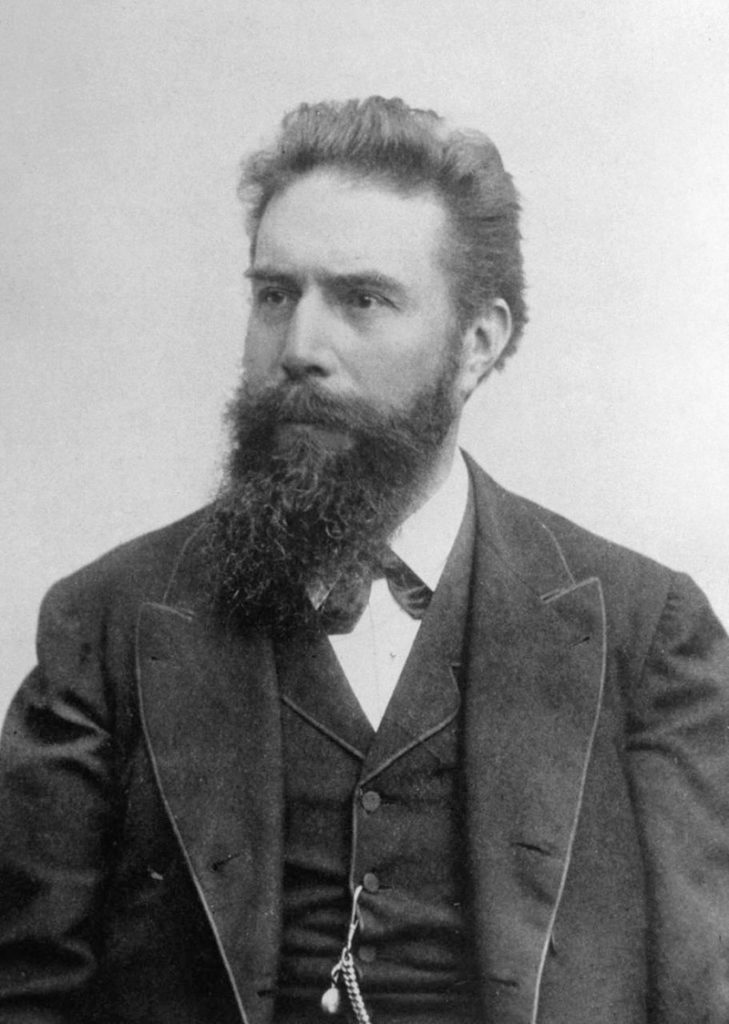 Wilhelm Conrad Röntgen, foto Life Inc. / Creative Commons / volné dílo