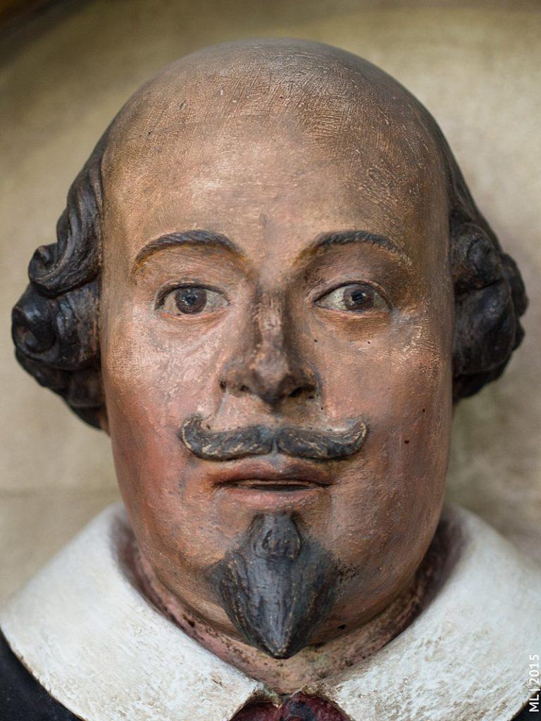 Shakespearova tvář, foto Sicinius / Creative commons / BY-SA 4.0