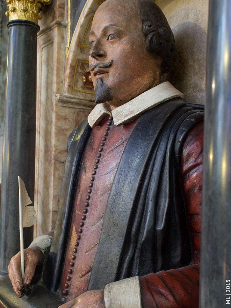 Takto podle vědců vypadal Shakespeare, foto Sicinius / Creative commons / BY-SA 4.0