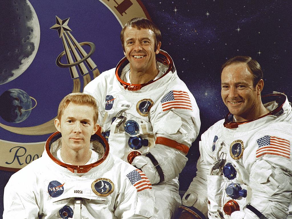 Posádka Apolla 14. Foto NASA