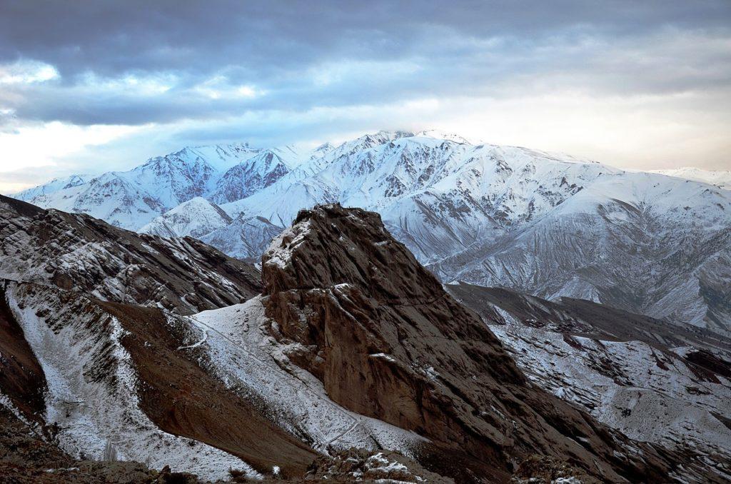A takto vypadá legendární pevnost dnes.  FOTO: Alireza Javaheri / wikimedia commons - CC BY-SA 3.0