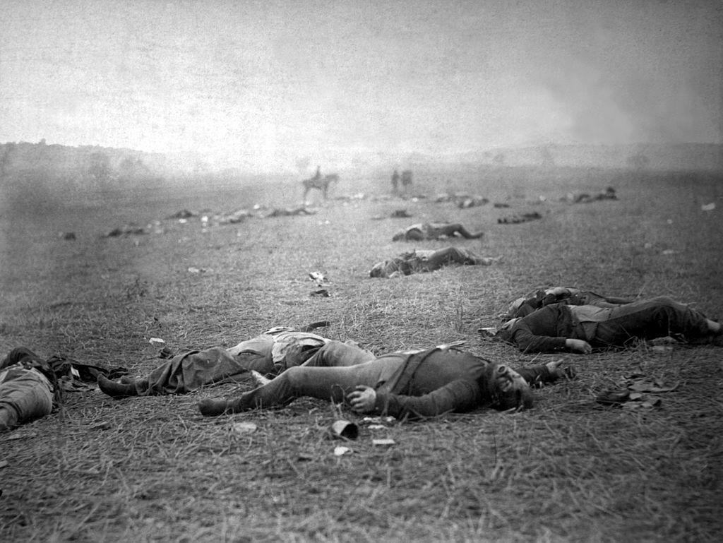 Bitva si vyžádala na 50 tisíc mrtvých. Foto: Timothy H. O'Sullivan/Wikimedia Commons/Public Domain