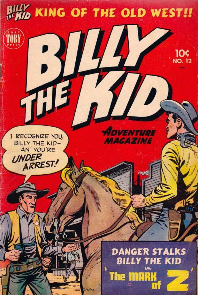 Dnes frčí Marvel.  Dřív Billy the Kid  FOTO wikimedia commons -  volné dílo