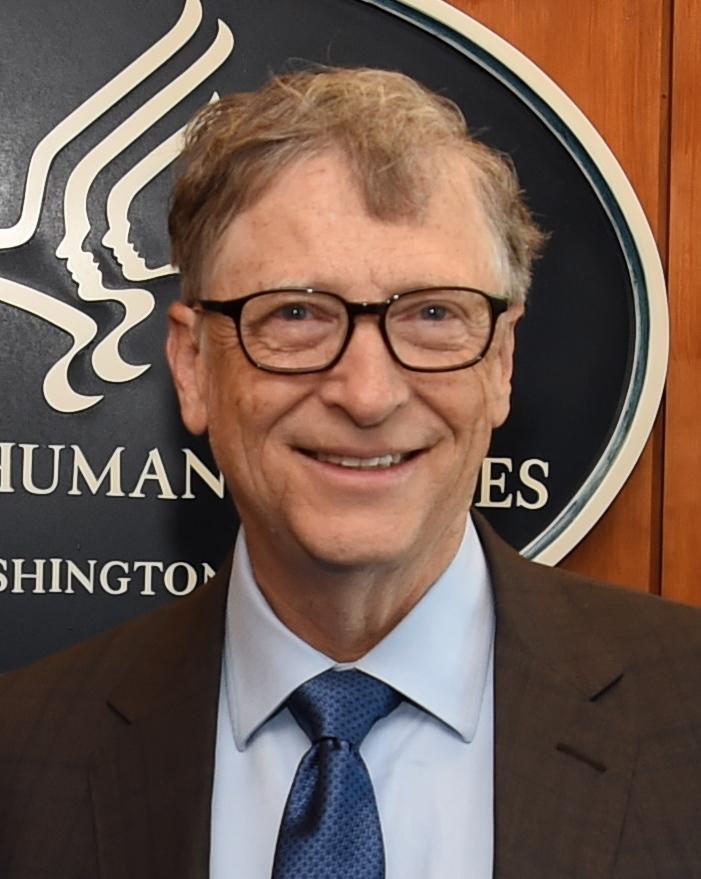 Bill Gates prý v ničem nejede, foto Americké ministerstvo zdravotnictví a sociálních věcí / Creative Commons / volné dílo
