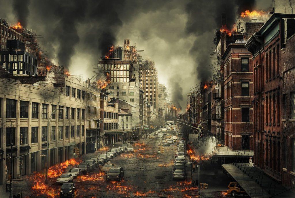 Svět prý skončí v plamenech, foto Pixabay