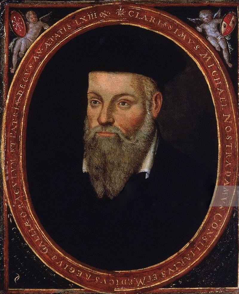 Francouzský prorok Nostradamus, foto César de Notre-Dame / Creative Commons / volné dílo