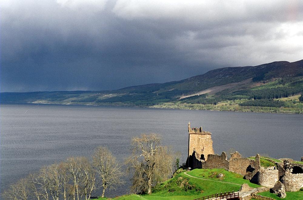 Jezero Loch Ness má být domovem záhadného monstra, Foto: Sam Fentress / Creative Commons / CC BY-SA