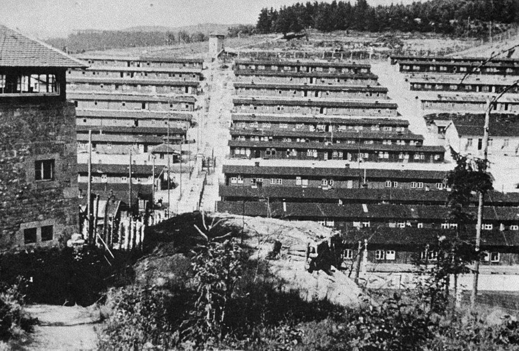 Konentrační tábor Flossenburg, kde Kefer zemřel.