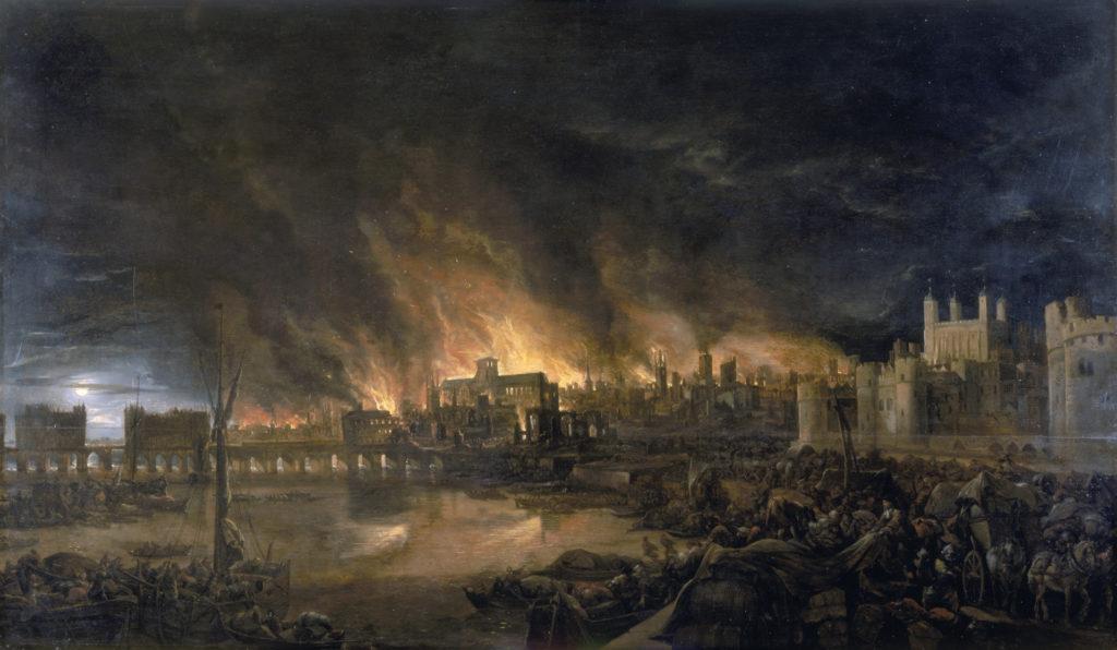 Velký londýnský požár: Podle obyvatel za něj mohl sám ďábel