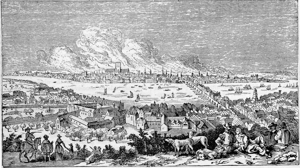 Jak požár vznikl, není ani dnes zcela zřejmé. Foto: Creative Commons/Volné dílo