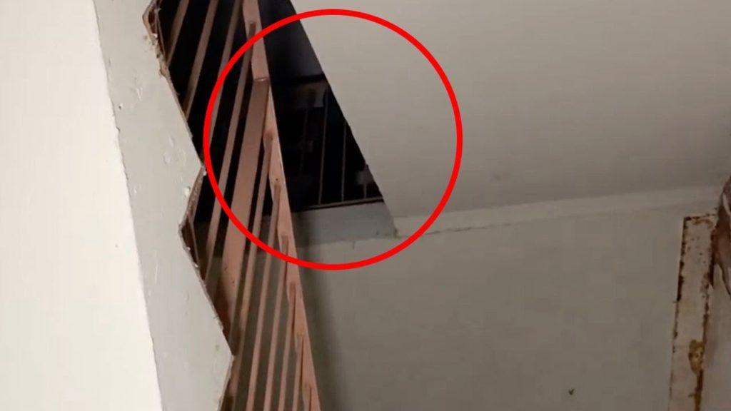 VIDEO: Zvláštní postava v opuštěném pečovatelském domě