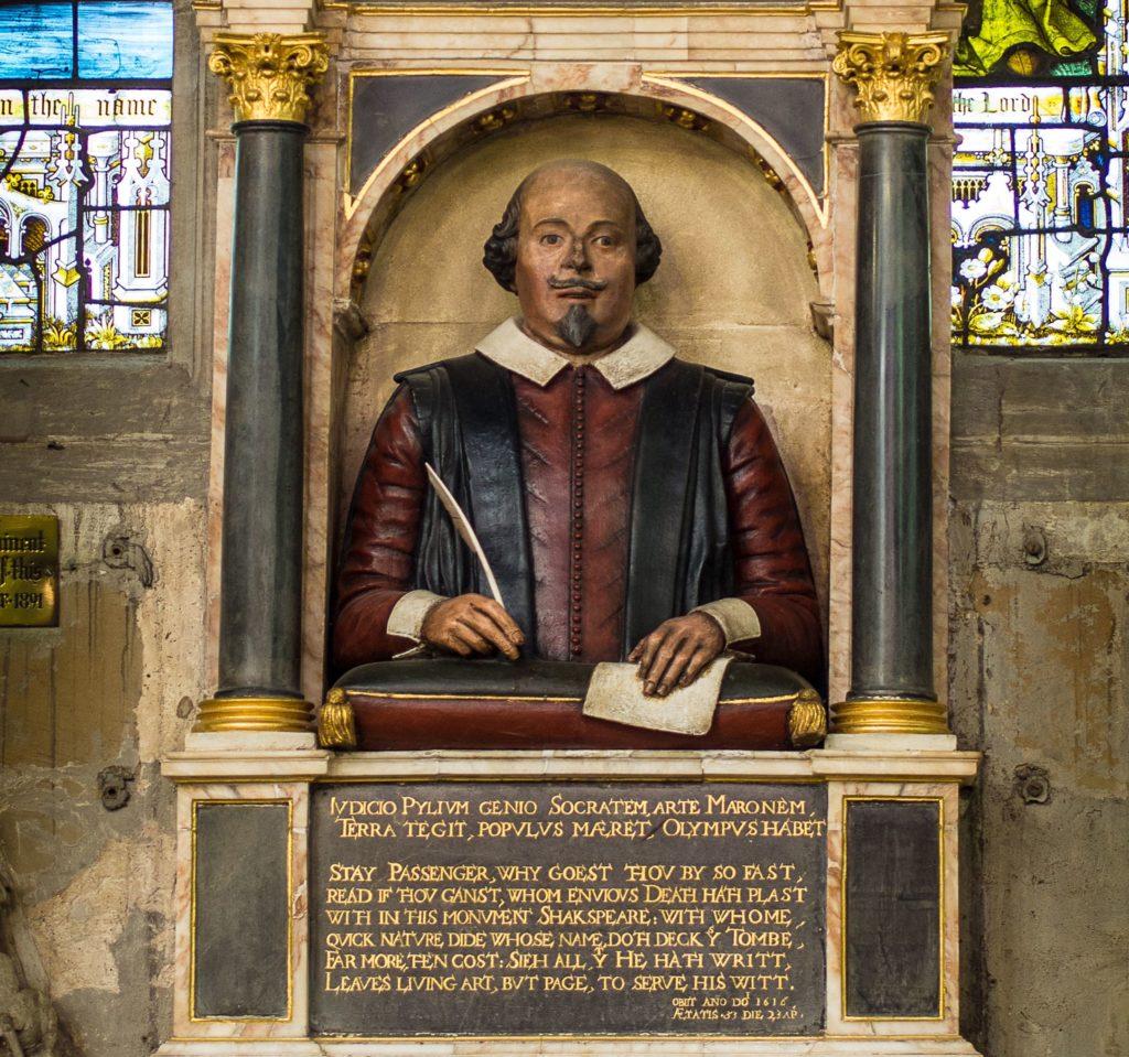 Vědci našli nejbližší podobu Williama Shakespeara
