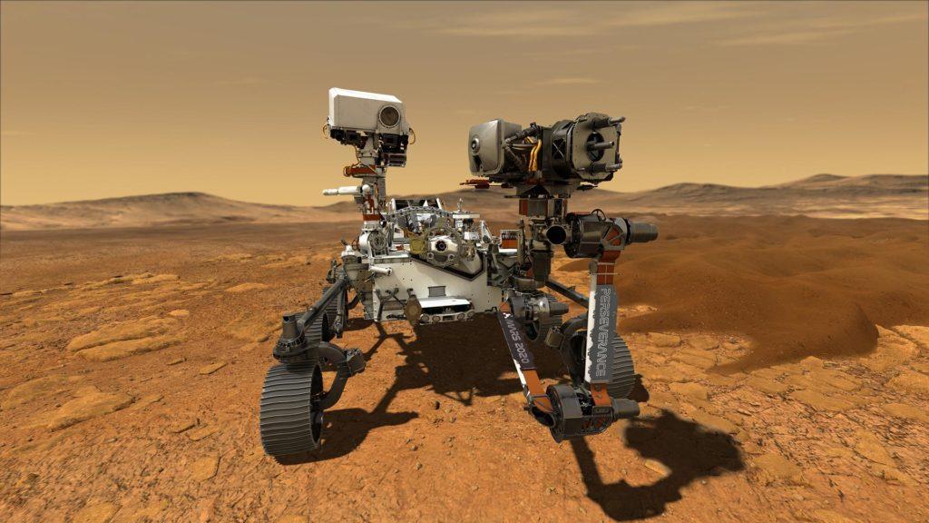 Poslechněte si Mars! Tento zvuk pořídilo vozítko Perserverance