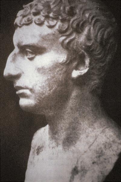 Josef Flavius a jeho další umělecké ztvárnění.