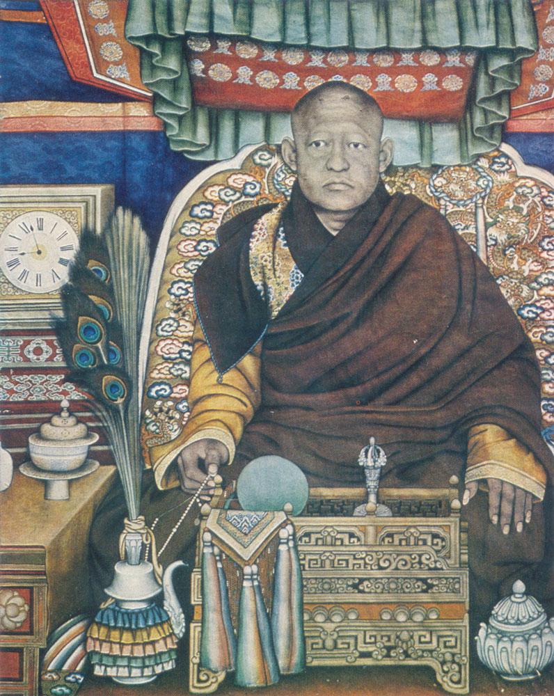 Bogdgegén je považován za živého buddhu. FOTO: Marzan Šarav / wikimedia commons - volné dílo