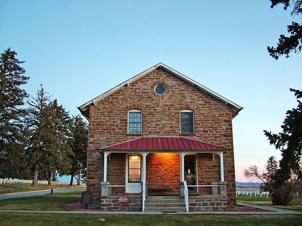 Kamenný dům pro zaměstnance byl postaven v roce 1894. Foto: NPS/Creative commons/Volné dílo