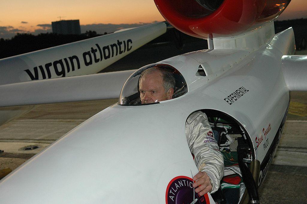 Miliardář Steve Fossett, foto NASA/KSC, creative commons, volné dílo